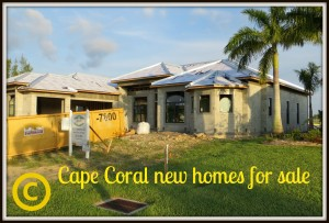 Cape Coral new homes for sale