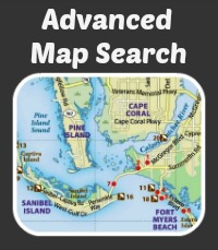 Greater fort myers beach custom map search vis MLS