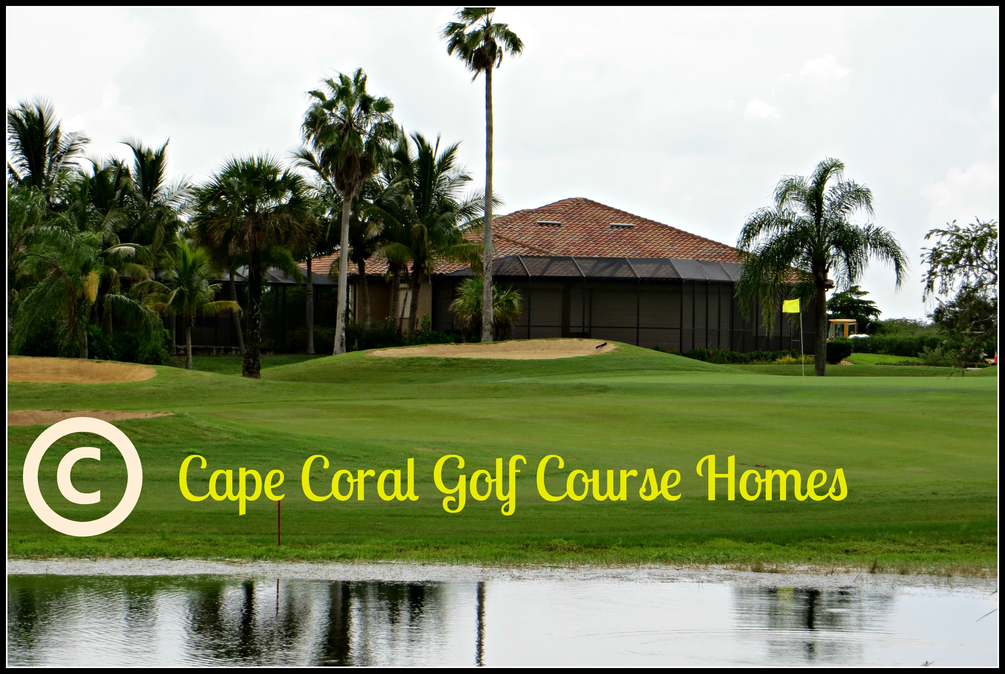 cape coral golf course homes