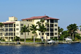 Riverfront Condos around cape coral