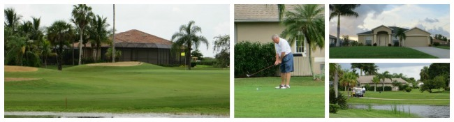 Golf course homes for sale in Cape Coral