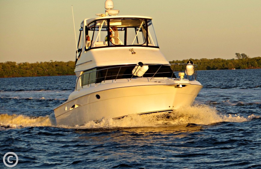 Boating around cape coral and sanibel island