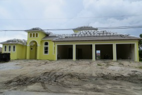 New Cape Coral Gulf access homes