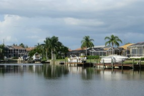 Pine Island Gulf access homes