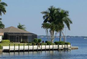 Million dollar waterfront Sanibel homes